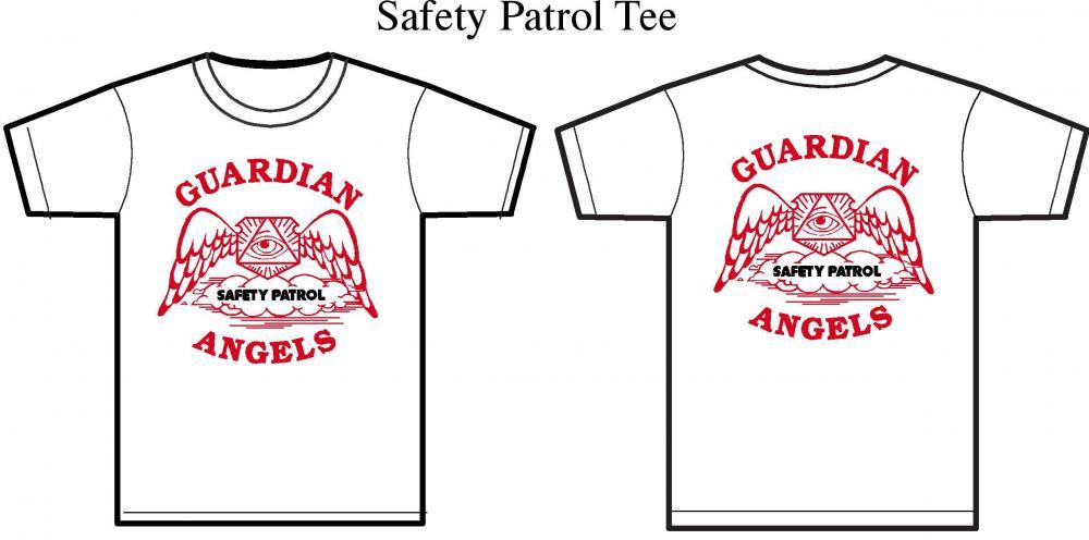 a73050d88 Guardian Angels White Unisex Safety Patrol T-Shirt | Uniform States ...