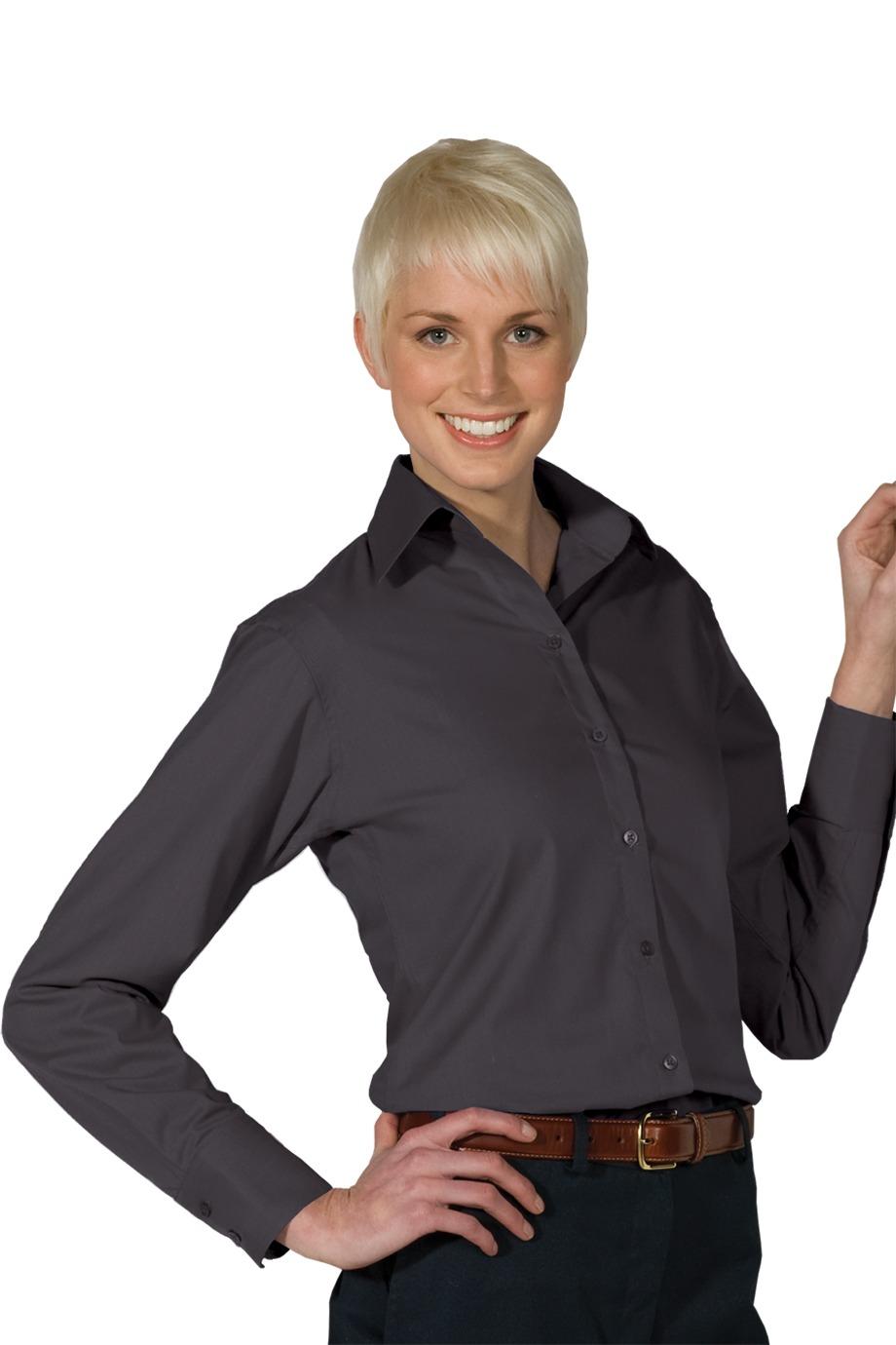 Edwards Womens Long Sleeve Patterned Dress Shirt